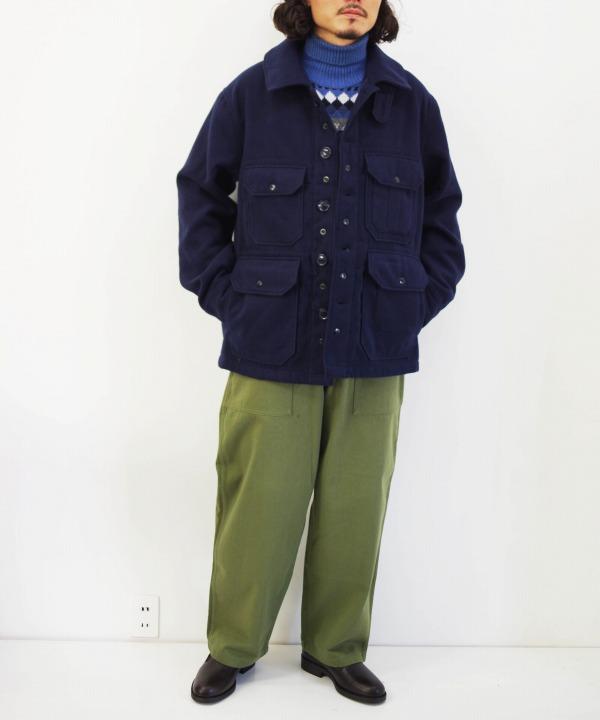 エンジニアド ガーメンツ/Engineered Garments  Cruiser Jacket - Fake melton(全2色)