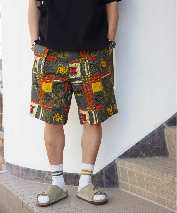 Engineered Garments/エンジニアド ガーメンツ Sunset Short - African Print