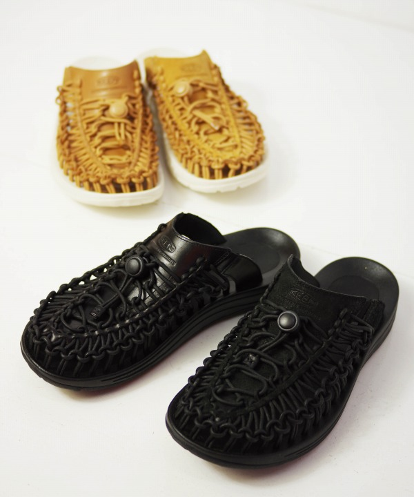 Engineered Garments x KEEN/エンジニアド ガーメンツ x キーン   Men's Uneek Premium Leather Slide Slide