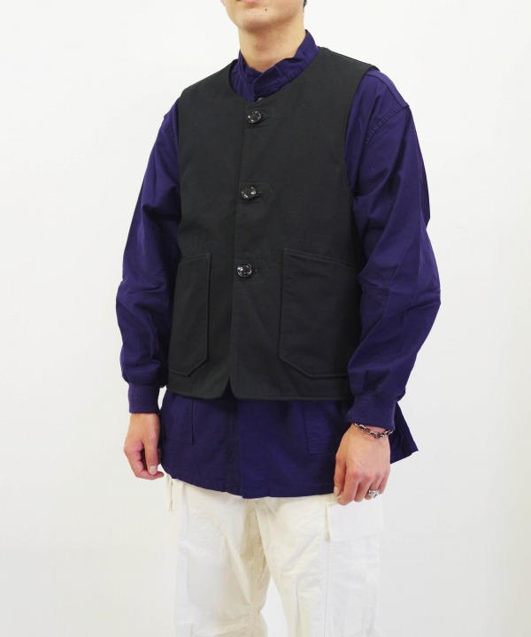 エンジニアド ガーメンツ/Engineered Garments  Over Vest Heavyweight Cotton Ripstop