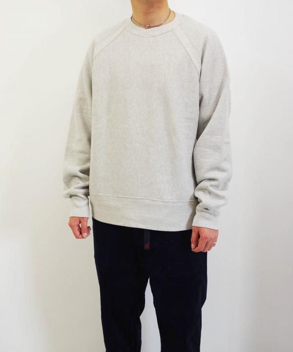 エンジニアド ガーメンツ/Engineered Garments Raglan Crew - Heavy Fleece (全3色)