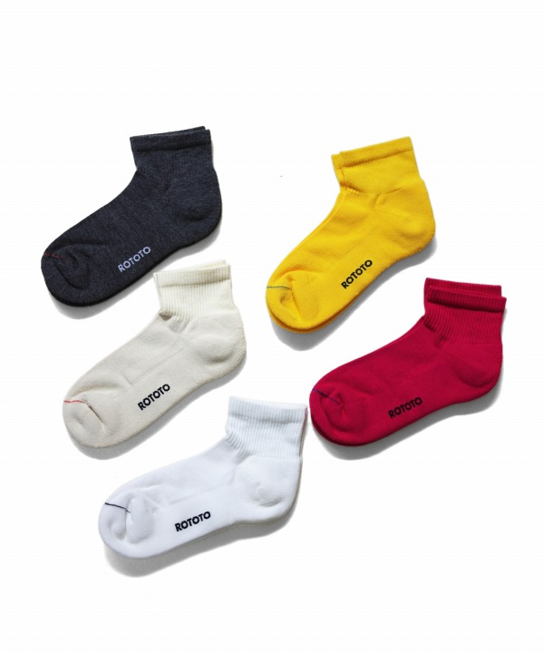 ROTOTO/ロトト FINE COOL ANKLE SOCKS