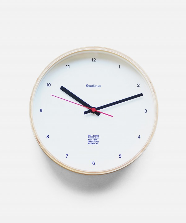 FreshService/フレッシュサービス Wall Clock
