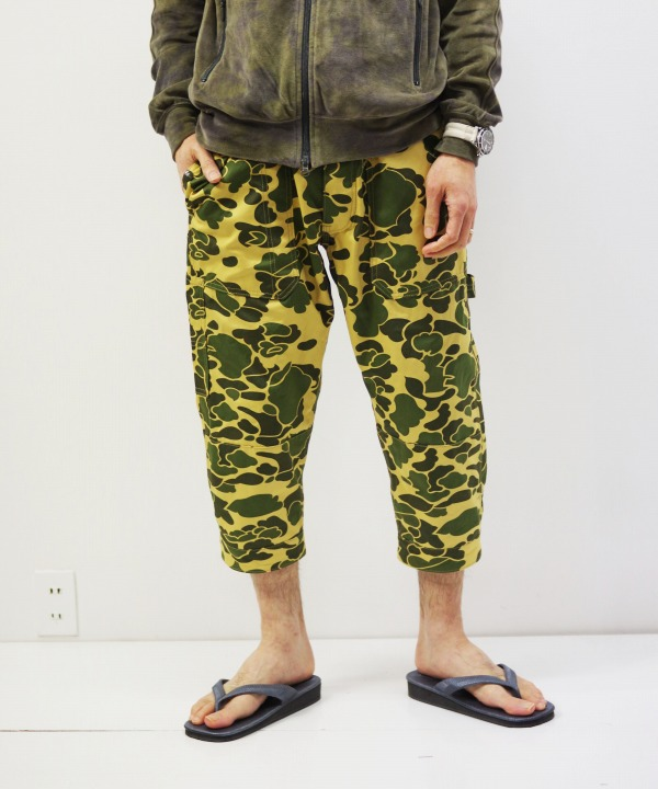 Sassafras/ササフラス Fall Leaf Gardener Pants 2/3 - Weeds Poplin