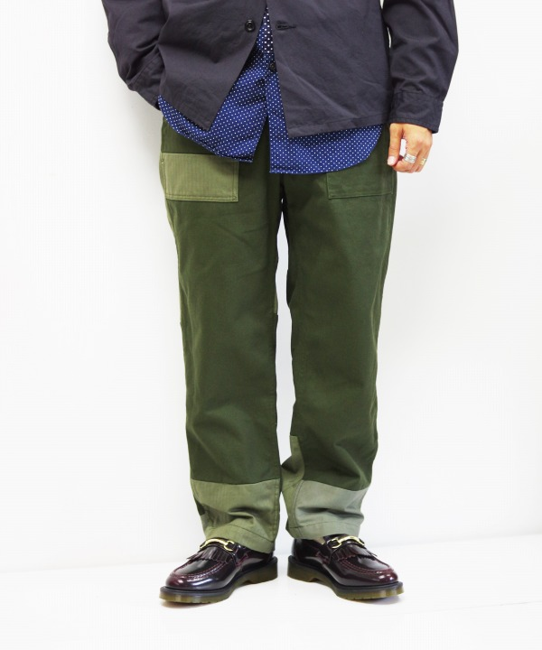Engineered Garments/エンジニアド ガーメンツ Fatigue Pant - Cotton Heavy Twill (全2色)