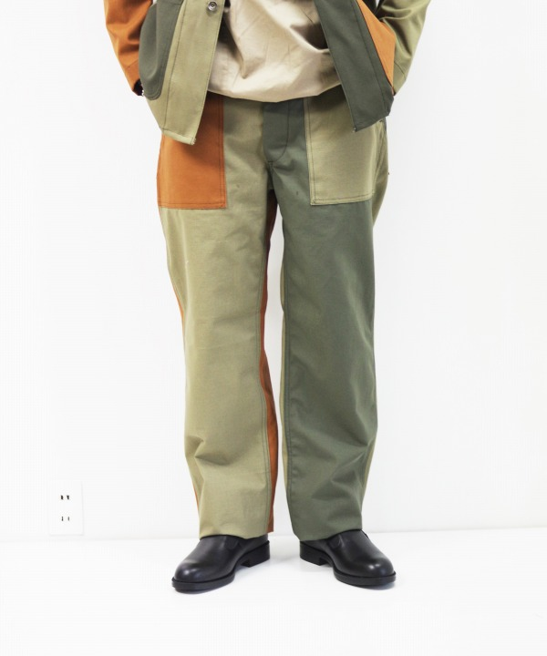 Engineered Garments Workaday/エンジニアド ガーメンツ ワーカデイ Fatigue Pant Combo - Cotton Ripstop