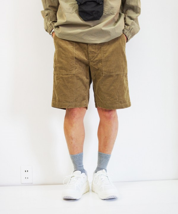 Engineered Garments/エンジニアド ガーメンツ Fatigue Short - 14W Corduroy
