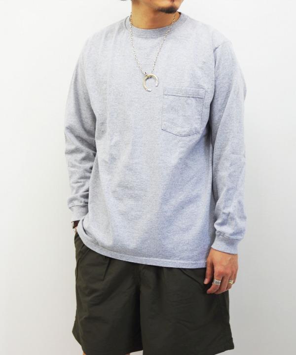 Goodwear/グッドウェア L/S POCKET TEE (全7色)