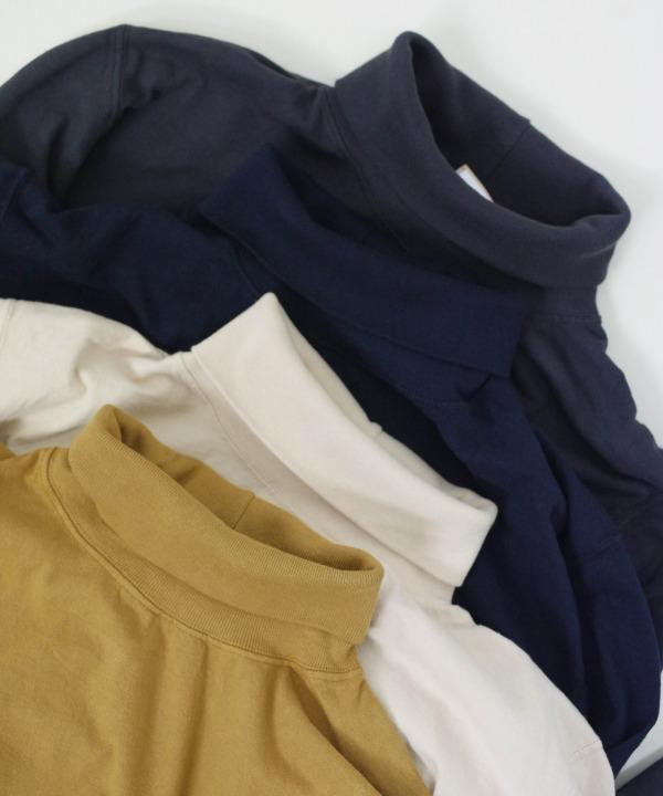 グッドウェア/Goodwear  L/S TURTLE NECK POCKET Tee(全4色)