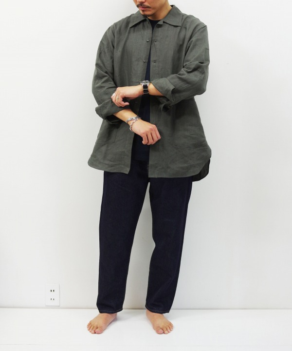 A VONTADE/ア ボンタージ Garden Shirt L/S - Linen (全3色)