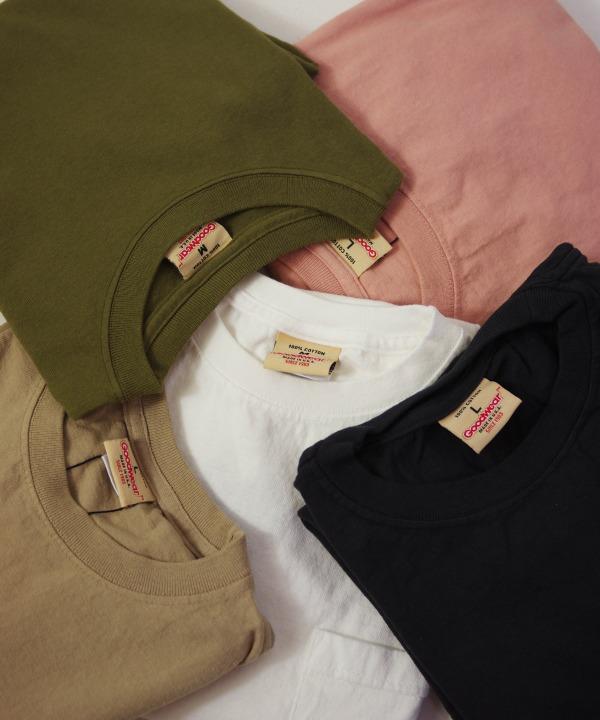Goodwear/グッドウェア SS POCKET TEE (全5色) 【MAPSの定番】