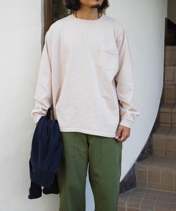 グッドウェア/Goodwear L/S POCKET TEE BIG(全3色)
