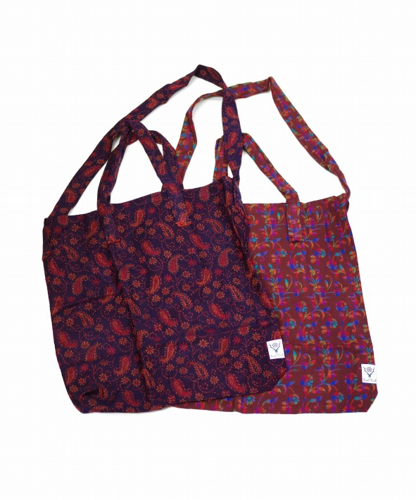 South2 West8/サウス2 ウエスト8 Grocery Bag - India Jq. (全2色)