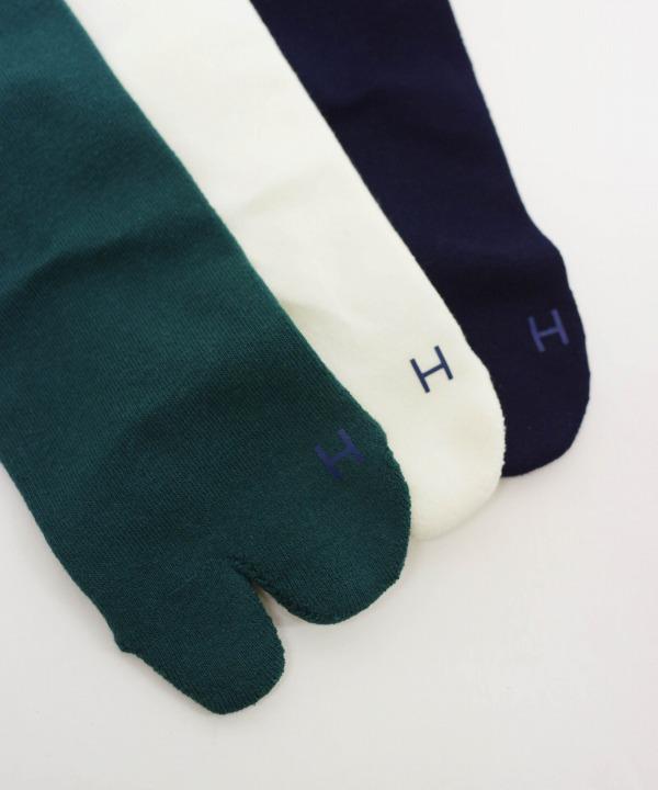 ハツキ/HATSKI    Tabi Pile Socks(全3色)