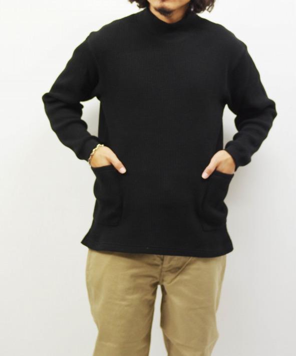 Health knit/ヘルスニット SUPER HEAVY WAFFLE SMOCK LS (全3色)