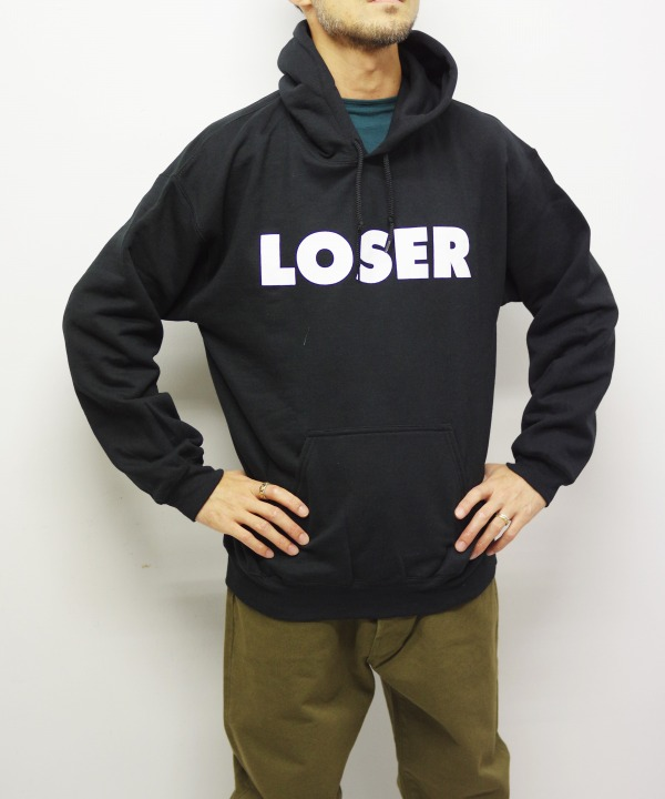 "SUB POP/サブポップ HOODED SWEAT SHIRT ""LOSER"""