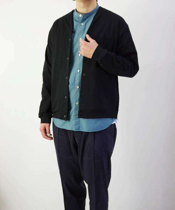 Jackman/ジャックマン  Stretch Owners Cardigan (全2色)