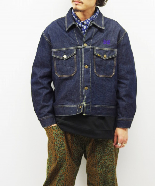 Needles x Lee/ニードルズ x リー Jean Jacket - 13oz Denim / Non Wash