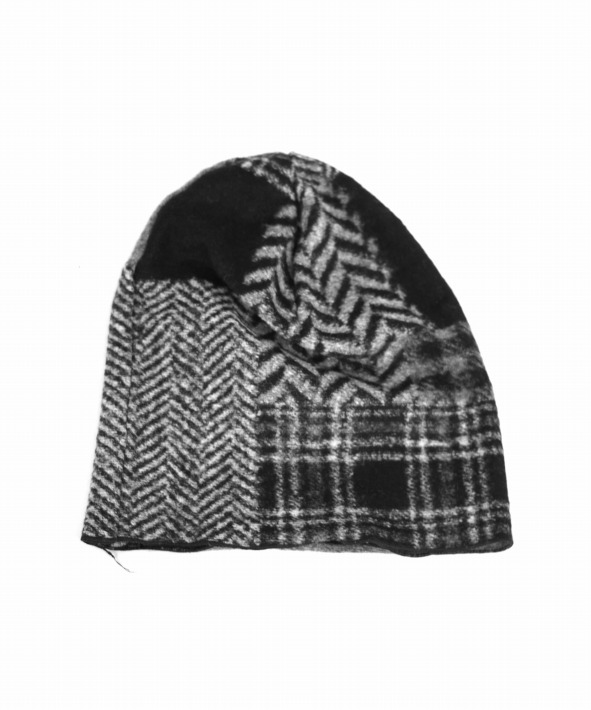 Engineered Garments/エンジニアド ガーメンツ Knit Beanie Cap - Knit Patchwork HB
