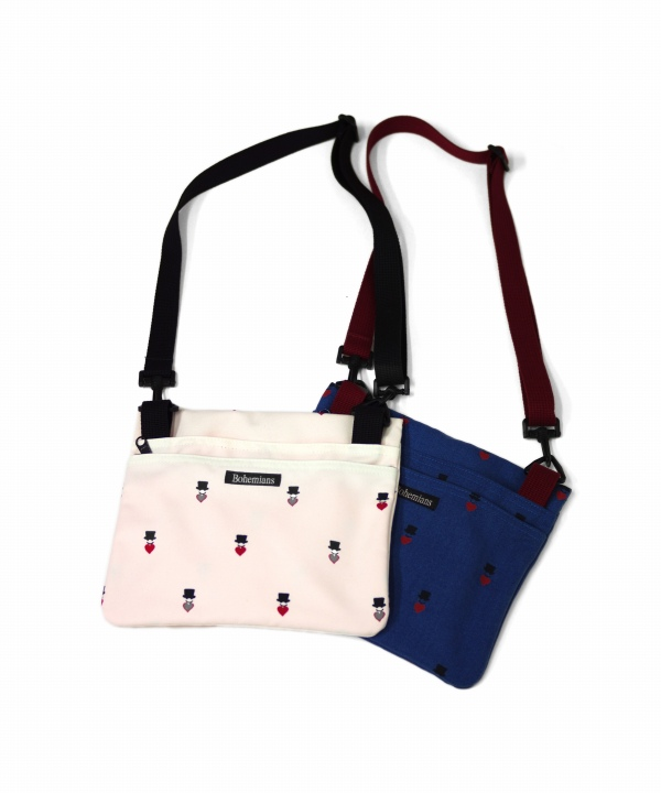 Bohemians/ボヘミアンズ LOVE & HAT DOTS EH SACOCHE BAG