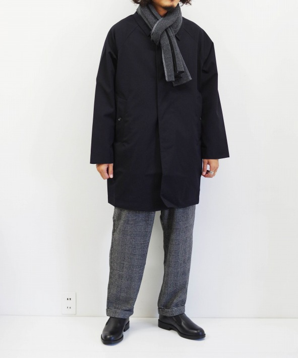 A VONTADE/ア ボンタージ Lax Balmacaan Coat - Short Length