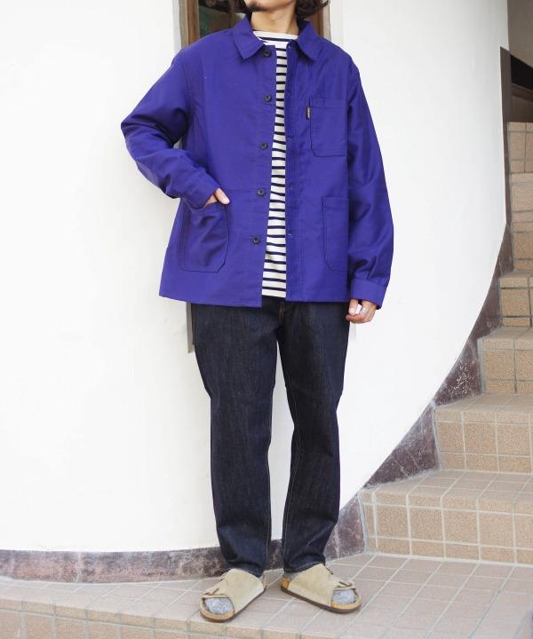 ルラブルール/Le Laboureur  MOLE SKIN400 COVERALL Jacket (全2色)