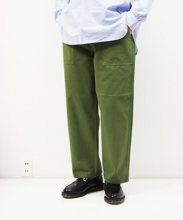 HATSKI/ハツキ Loose Tapered Utility Trouser