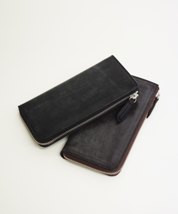 SLOW/スロウ L zip long wallet - bridle