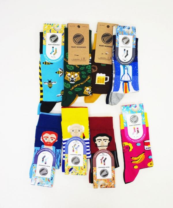 メニーモーニングス/MANY MORNINGS   Regular Socks