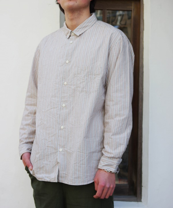 MUYA/ムヤ  Atelier shirts relax regular collor