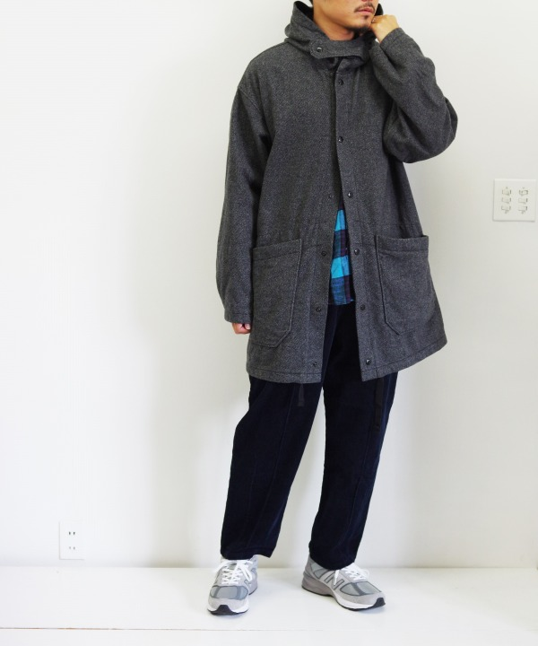 Engineered Garments/エンジニアド ガーメンツ Madison Parka - Blend Diagonal