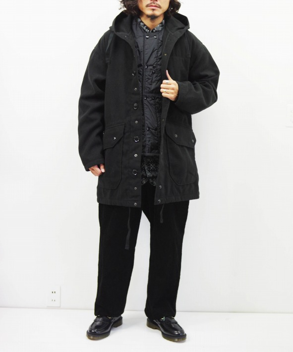 Engineered Garments/エンジニアド ガーメンツ Madison Parka - Fake Melton