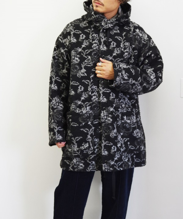 Engineered Garments/エンジニアド ガーメンツ Madison Parka - Rose Jacquard