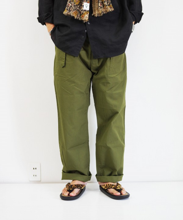 A VONTADE/ア ボンタージ Mil. Cookman Trousers w/Belt