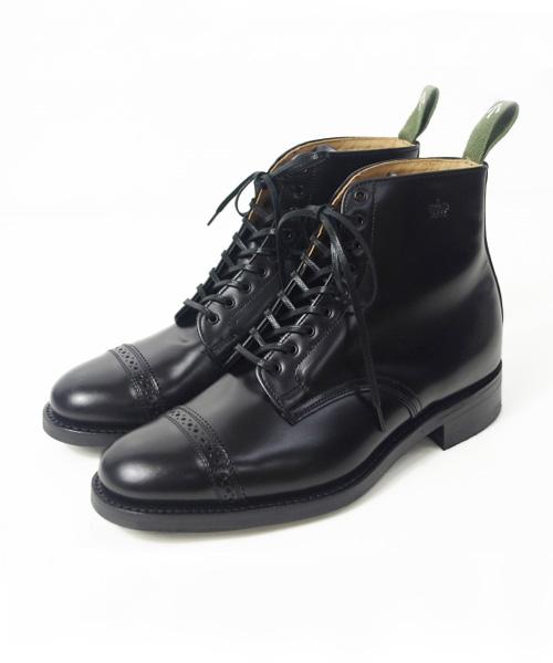 SANDERS/サンダース Military Cap Toe Boot