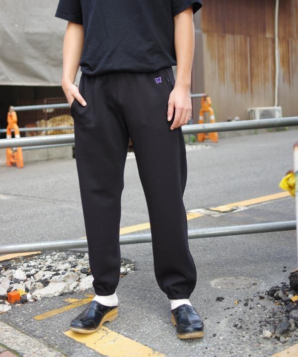 ニードルズ/Needles  Zipped Sweat Pant - Pe/C/Pu Fleece Lined Jersey