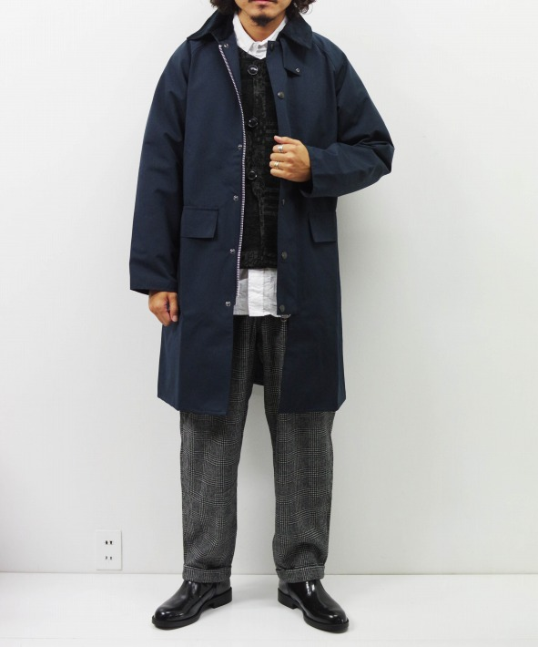Barbour/バブアー NEW BURGHLEY JACKET 2LAYER