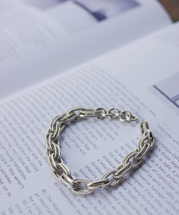 NOMA t.d./ノーマ ティーディー Double Chain Bracelet