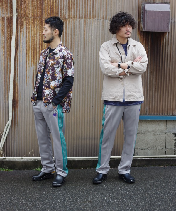 Needles/ニードルズ Narrow Track Pant - Poly Smooth 【MAPSのスペシャル】