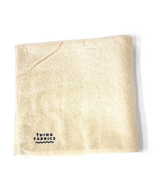 tHING FABRICS/シングファブリックス ORGANIC T100 bath towel 【MAPSの定番】