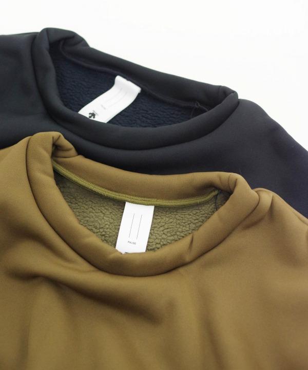 デサント ポーズ/DESCENTE PAUSE   KARUISHI CREW NECK (全2色)