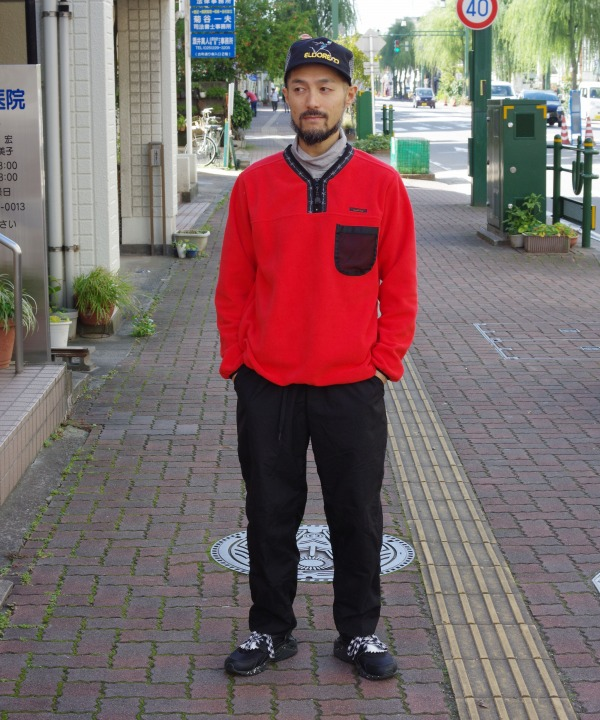 LAST CHANCE/ラストチャンス POLAR FLEECE HALF/ZIP PULLOVER(全3色)