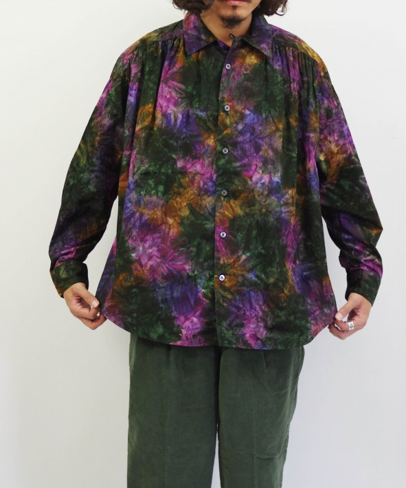 AiE/エーアイイー Painter Shirt - Abstract Batik