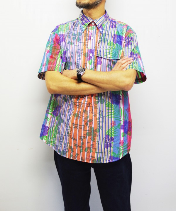 Engineered Garments/エンジニアド ガーメンツ Popover BD Shirt - Floral Printed on St.
