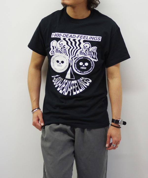 Dead Feelings/デッドフィーリング Printed T-shirt - Dead Feeling Logo