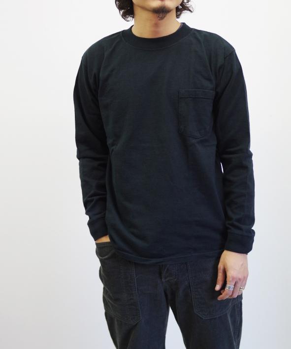 Goodwear/グッドウェア RGL モックネック LS CREW (全4色)