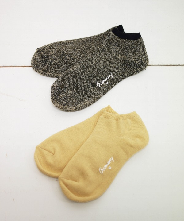 ROTOTO/ロトト Asamerry PILE ANKLE  SOCKS