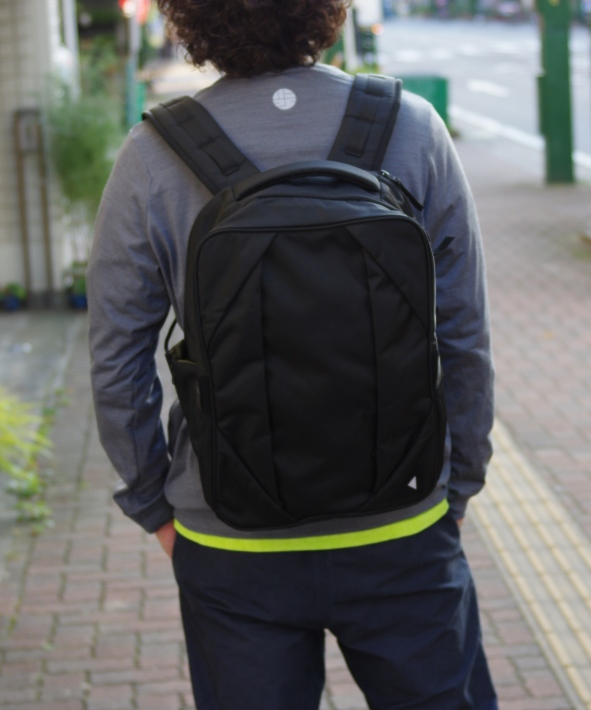 nunc/ヌンク Rectangle Backpack