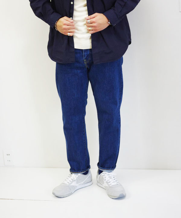 HATSKI/ハツキ Regular Tarperd Denim - Used