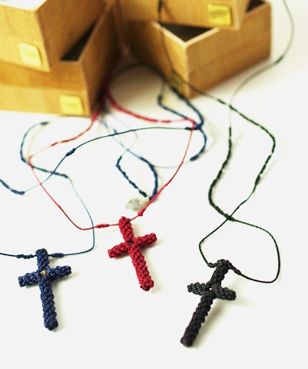 NOMA Council/ノーマ カウンシル Rough Diamond Cross Necklace